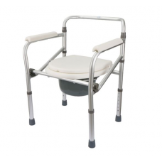Powder Coated Commode Chair