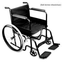 Standard Wheelchair Black Colour