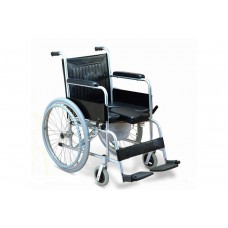Armrest Removable Commode Wheelchair