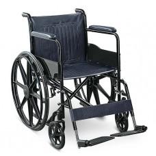 Black Colour Wheelchair with allow wheel