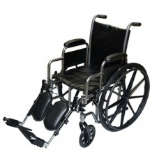 Wheelchair With Leg Rest